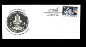 USA #2842 on Cover, Linenger Station, Eastpointe MI. Net 15.00