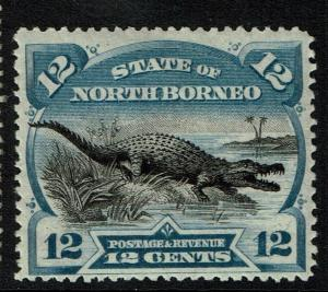 North Borneo SG# 76a, Mint Hinged, Perf 14, Ultra - Lot 112316