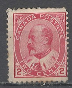 COLLECTION LOT # 3973 CANADA #90 MH 1903 CV+$55