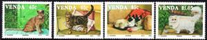 Venda - 1993 Cats Set MNH** SG 247-250