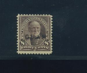 Guam Scott 7 Overprint Mint Stamp with PF Cert (Stock Guam 7-PF1)