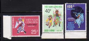 South Vietnam 509-511 Set MNH Theater Costumes (A)