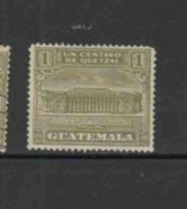 GUATEMALA #RA2 1922 POSTAL TAX F-VF USED d