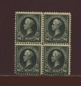 276A Perry Type II Mint Block of 4 Stamps with PF Cert  (Stock 276A PF1)