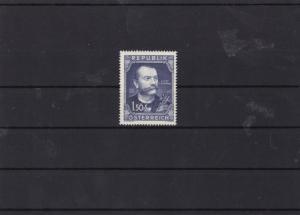 austria 1952 josef schrammel composer mnh stamp cat £15 ref 7154