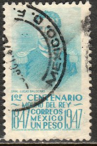 MEXICO 835, $1P 1847 Battles Centennial. Used. F-VF. (916)