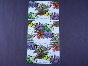 U.S.# 4153-4156(4156d)-MINT/NH-BOOKLET PANE OF 20--POLLINATION-- FLOWERS--2007
