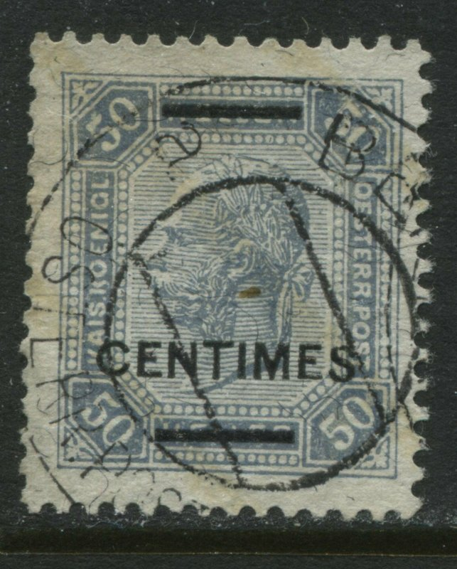 Austria 1905 Offices in Crete 50 centimes overprinted on 50 heller CDS used