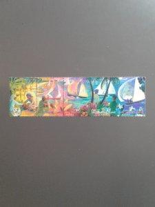 Cocos Islands 330 VF MNH strip of 5 different (Yr: 1999) Scott $ 4.25