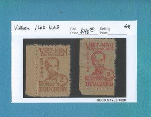 Vietnam 1L62-1L63  MNH