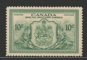 Canada 1946 Special Delivery (Arms of Canada) 10c Scott # E11 MH