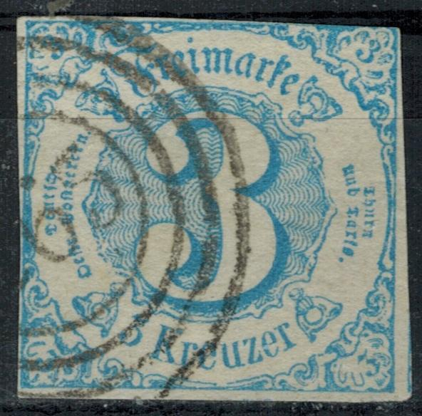 Germany - States - Thurn & Taxis - Scott 48