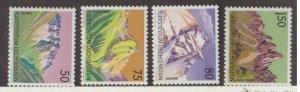 Liechtenstein Scott #911-914 Stamps - Mint NH Set