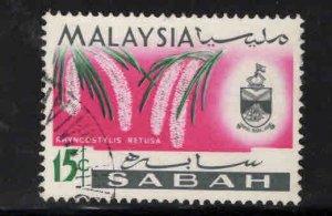 Malaysa Sabah  Scott 22 Used