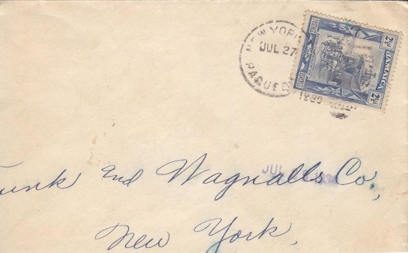 1929, Jamaica to New York, See Remark (8063)