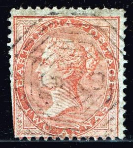 INDIA STAMP Queen Victoria  2 ANNA USED STAMP