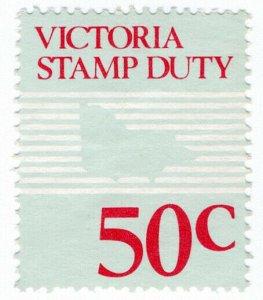 (I.B) Australia - Victoria Revenue : Stamp Duty 50c