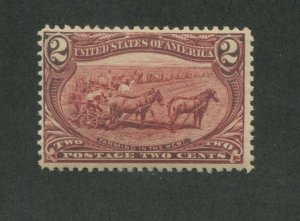 1898 United States Postage Stamp #286 Mint Never Hinged F/VF Original Gum