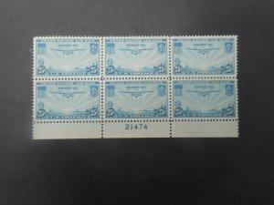 # C 20 VFNH Plate Block