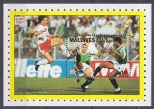 1994 Maldive Islands 2226/B315 1994 FIFA World Cup in USA