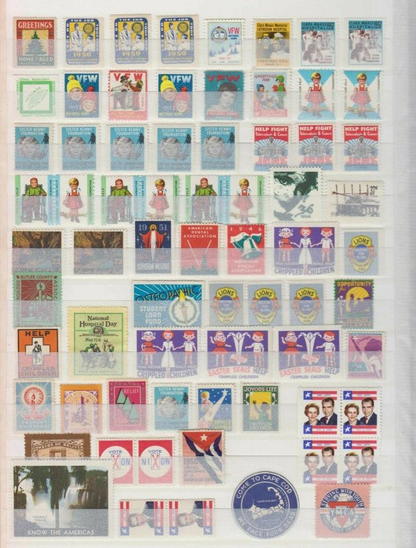 WORLDWIDE 1900-80 CINDERELLA COLLECTION OF 166 STAMPS & 4 SOUVENIR SHEETS MINT+