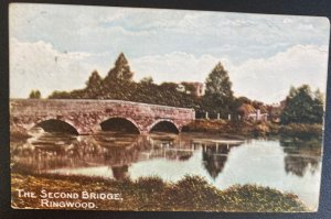 1907 Ringwood England Picture Postcard Cover The Second Bridge