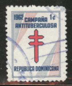 Dominican Republic Scott RA30 used Postal tax 1961
