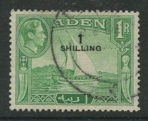 STAMP STATION PERTH Aden #43 - KGVI Definitive Overprint 1951 Used CV$0.30.