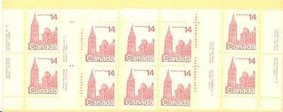 Canada 8 M/S of Plate Blocks  VF NH #715/787