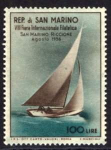 San Marino 1955 Scott #358 Mint Lightly Hinged