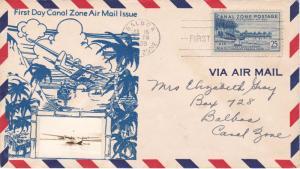 Canal Zone Scott C25 Ink address.