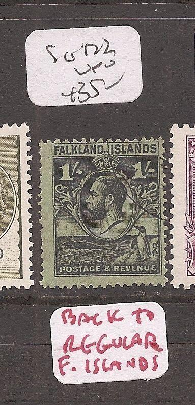 Falkland Islands SG 122 VFU (10cff)