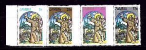 Zambia 229-31 MNH 1980 Christmas