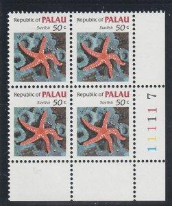 Palau  Scott#  18  MNH Block of 4  (1983 Starfish)