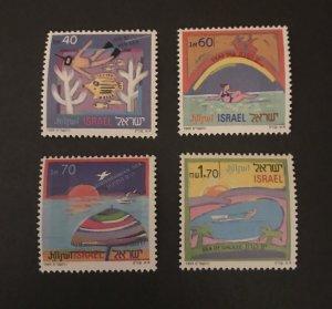 Israel 1989 #1007-10,  MNH.
