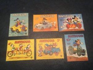 ICOLLECTZONE Antigua #563-568 VF NH Disney (Bk1-36)