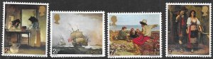 Jersey #57-60  Paintings   (MNH) set complete  CV $2.70
