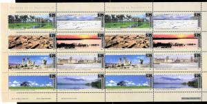 ARGENTINA 2018 NEW RESTRICTED EMERGENCY ISSUE OVERPRINTED 25$ MINISHEET MNH !!