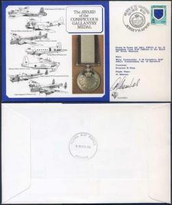 DM9b Award of the Conspicuous Gallantry Medal Signed by Chambers (J)