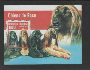 TOGO #1911G 1999 DOGS MINT VF NH O.G S/S