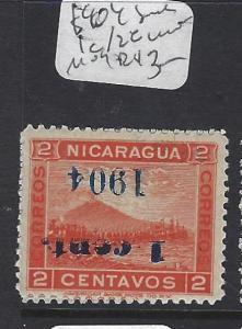 NICARAGUA (P1509B)  1904 1C/2C INVT OVPT  MOG