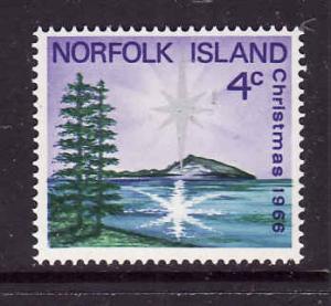 Norfolk Is.-Sc#99-Unused NH set-Christmas-1966-