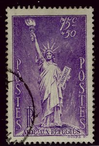 France SC B45 Used VF hr...Highly Collectible!!