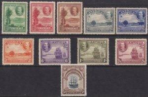Antigua 1932 SC 67-76 MLH Set