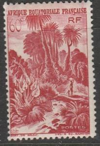 Afrique Equatorial Francaise 1946  Scott No. 170  (N*)