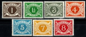 Ireland #J15-21  MNH CV $14.00