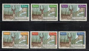 Guinea #214-9 comp mnh cv $5.05 Animals