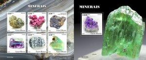 Z08 IMPERF GB191006ab GUINEA BISSAU 2019 Minerals MNH ** Postfrisch