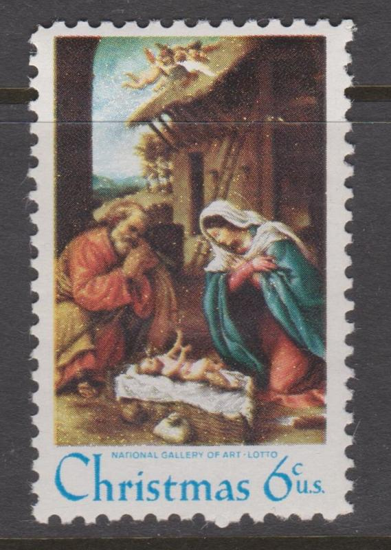 USA Sc#1414-1418 1970 Christmas MNH