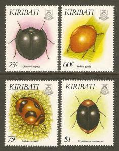 Kiribati #607-10 NH Insects
